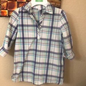 Carter's girls plaid shirt
